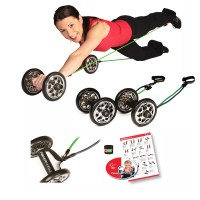 Gymstick PowerWheelz Pro with Workout DVD