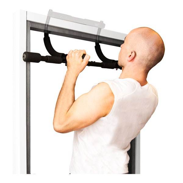 Gentil Gymstick Multi Training Door Gym/Chin Up Bar With Workout DVD
