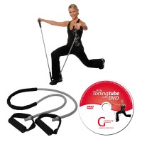 Gymstick Body Toning Tube with Workout DVD