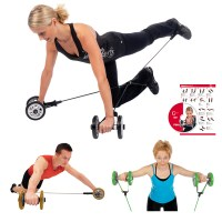 Gymstick PowerWheelz with Workout DVD